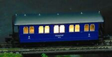 KPEV 1st class coach WITH LIGHTS    by ARNOLD   N Gauge  (7)