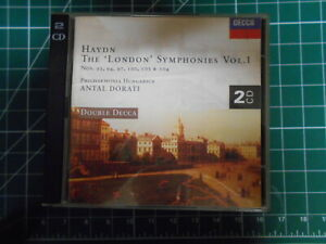 haydn the london syms vol 1 dorati  decca 2cd