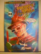 Freddy´s Dead Comic in 3-D - Innovation Comics 1992 Nr. 1 Ungelesen!