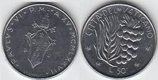 gertbrolen  Italie Città del Vaticano  Paul VI   50 Lire  1977