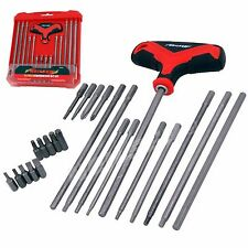 Neilsen Screwdriver Bit Set T Handle Hex Torx Star Slotted /  4248
