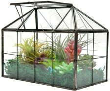 Large Glass Plant Terrarium House Succulent with Lid Greenhouse Planter