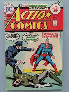 ACTION COMICS  #444  High Grade; Beautiful Copy;  Very Fine-  7.5