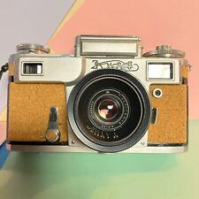 Kiev 4 35mm Rangefinder Camera with Jupiter 8M & Jupiter 12 Lenses & Case! Lomo