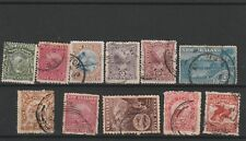 New Zealand early GU pictorial selection with values to 1/-