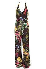 Damen Overall Jumpsuit Einteiler LIPSY schwarz bunt NEU Größe 38 42 44