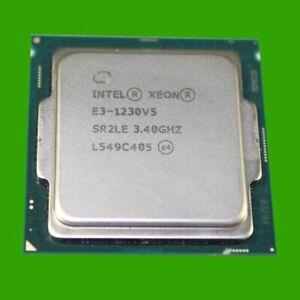 Intel XEON E3-1230 V5 3,4 GHz Sockel LGA 1151 CPU Quad Core Prozessor