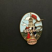 WDW - Disney's Yacht Club Logo - Mickey and Minnie Mouse - Disney Pin 51391