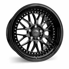 18x9.5 18x10.5 +35/22 Inch ESR SR01 5x114.3 Black Wheels Rims 350z 370z Civic