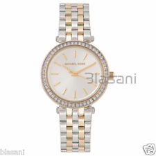 Michael Kors Original MK3405 Women Darci Mini Two-Tone Steel Bracelet Watch 33mm