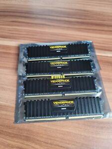 Corsair Vengeance LPX Black DDR4 16GB 2666Mhz Quad Channel Kit (4 x 4GB) 1.20v