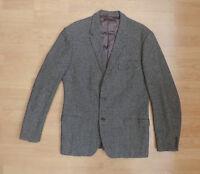 Men's Vintage Tweed Jacket Coat Blazer Houndstooth V3-A5