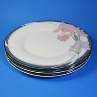 Noritake New Decade CAFE DU SOIR Salad Plates Set of 3 Plate Japan 9091