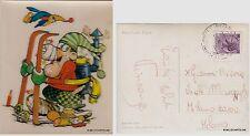 "# LACOVITTI 1973: ""SCI"" - mini-card Pigna diretta a GIANNI RIVERA (Milan)  1973"