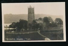 Somerset BLAGDON The Church unused 1926 RP PPC Viner Bromo Card
