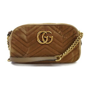 Gucci Shoulder Bag  Beiges Fabric 2402135