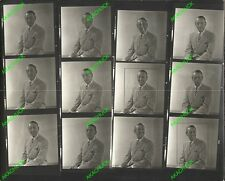 LEW PARKER Contact Sheet & Negatives THAT GIRL Character Actor MELODYLAND M579