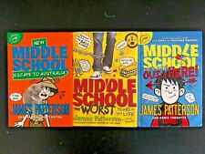 New ListingMiddle School Books:James Patterson Middle School (Lot of 3)
