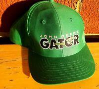 John Deere Vintage Gator Green Men's Adjustable Snapback Hat / Cap