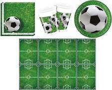FOOTBALL Set de Fête Serviettes table plaque tasses Nappe fußballparty