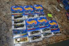 LOT OF 11 HOT WHEELS MATTEL CARS FIREBIRD CAMARO CHARGER NEW SEALED VINTAGE B318