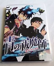 BLUE EXORCIST Complete Anime TV Series Ep.1 - 25 PLUS Movie DVD Box Set ENG DUB