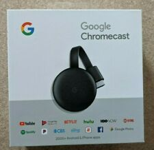 Google Chromecast 3rd Generation HDMI Media Streaming (NEWEST VERSION) BRAND NEW