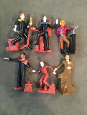 1994 Star Trek Generations Set of 6 Collectible Figurines by Applause
