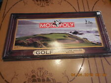 MONOPOLY GOLF  SIGNATURE HOLES EDITION COMPLETE  OPEN BOX