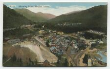 ID ~ View of Silver Mine & Town MULLAN Idaho c1910 Shoshone County Postcard
