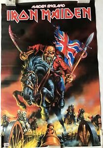 Iron Maiden Maiden England Poster