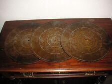 "Eroica Nr. 38 A Symphonion 3 A B C Blechplatten 34,5cm music box 3 discs 13 5/8"""