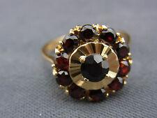 schöner alter Granat-Ring Gold 750/-