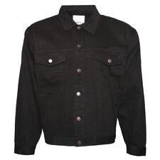 Para Hombre Denim Jean Jacket Botones Calce Clásico Algodón Premium dbfl