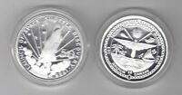 MARSHALL ISLANDS – SILVER PROOF 50$ COIN 1989 YEAR KM#12 SPACE SHUTTLE DISCOVERY