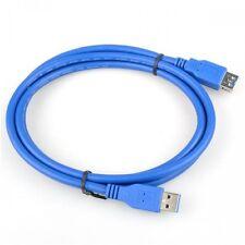 CABLE ADAPTADOR ALARGADOR USB 3.0 MACHO A USB 3.0 HEMBRA 1,5 METROS