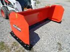 NEW HLA 3500 SERIES 96' SNOW PUSHER FOR SKID STEER LOADERS, SSL QUICK ATTACH