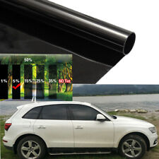 50cmx3m 5% Universal VLT Black Car Home Glass Window Tint Tinting Pro Film Roll