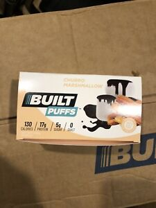 Built Bar Puffs Churro - Sold Out: Unopened Box; 6 ct., 9/09/21