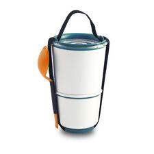 BLACK+BLUM LUNCH POT Blau Orange NEU/OVP Lunchbox Aufbewahrung Behälter f. Essen
