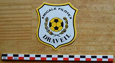 Autocollant sticker  des années 1980, Amicale Filotex Draveil