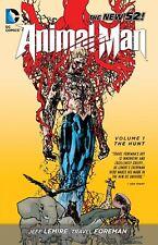 Animal Man Volume 1 The Hunt GN Jeff Lemire Travel Foreman New NM
