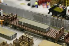 BULKSCENE - MODEL STEEL SLABS 90mm x 20mm (x3) OO GAUGE WAGON LOADS 1/76 - NEW