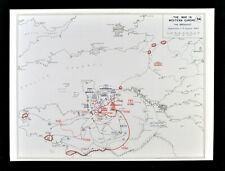 West Point WWII Map Operation Cobra Allied Breakout & Air Bombardment Normandy