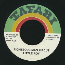 """NEW 7"""" Little Roy - Righteous Man 2nd Cut  /  Version"""