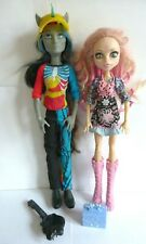 Neighthan Rot & Viperine Gorgon & Accessories Monster High Doll Bundle. Boy Doll