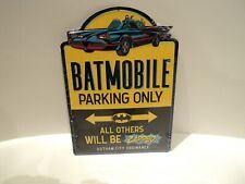 For Your Slot Car Room!  Batmobile Parking Sign! For T-Jet, BZ, Collectors!