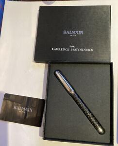 NIB Balmain Paris x Laurence Bruyninckx ballpoint pen + touchscreen end
