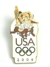 2004 Walt Disney World Disney Chip 'n Dale Chipmunks Olympic Pin