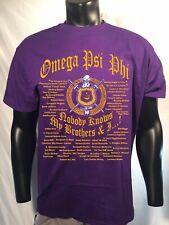 Omega Psi Phi Royal Purple Nobody Knows...